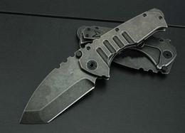 conjunto de regalo de supervivencia Rebajas Fuerzas blindadas 440C cuchillo de bolsillo Cuchillo de caza táctico Bolsillo plegable caza de caza sobrevivir cuchillo 1 unids