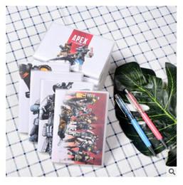 notizbuch-zeitschriften Rabatt Notebook Spiel Apex Legends Journal Mädchen Jungen Täglich Notizblock 72 Blatt Reisejournal Notebook Mit Gummihülse Schulbedarf Stationäre
