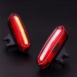 2019 mountainbike-kopf-rückleuchten USB wiederaufladbare Fahrradrücklichter - Super helle 120 Lumen wasserdichte Fahrradrücklicht, 6 Modi, einfach zu installieren rot / blau kann ganz sein