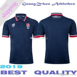 2019 Inghilterra Coppa del mondo polo NRL National Rugby League edition Maglia da rugby T-shirt da calcio S-3XL cheap t shirt england da t shirt inghilterra fornitori