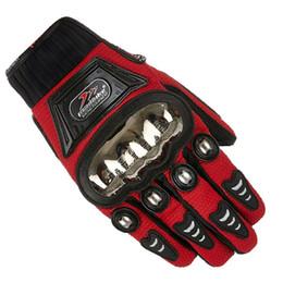 2019 motos de carreras guantes taichi Lo nuevo MAD-01S guantes de motocicleta todoterreno de acero inoxidable guantes de carrera masculinos de verano carrera de caballero guantes de motocicleta