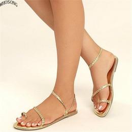 Plus Größe 35-43 Sommer Sandalen Frauen Flip-flops Weben Leder Casual Strand Flache Mit Schuhe Rom Tanga Stil Weibliche Sandale Frauen Schuhe Frauen Sandalen