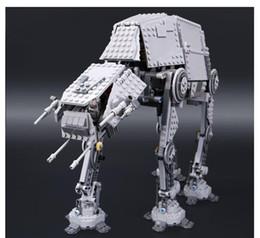 Bloques de robot online-05051 Fuerza despertar el AT AT transpotation Blindados Robot 75054 Building Blocks Ladrillos de bricolaje para la Educación