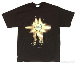 immagini luminose Sconti Black Sabbath Stage Lights Live Pic 1999 Reunion Tour Black T Shirt Nuovo ufficiale