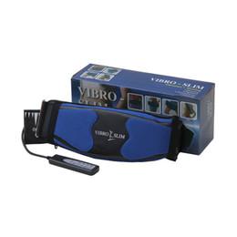 Cinto de vibração on-line-Elétrica Vibro Shaper Emagrecimento Vibratório Aquecimento Sauna Belt Terapia Massageador Ab Gymnic Cintos Perda De Peso Queima de Gordura Monitor (100 -240 v)