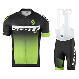 Pro Team scott Cycling Jersey Suit 2018 Bike Clothing Men Summer Quick Dry  MTB Bicycle short Sleeve Racing uniformes Ropa ciclismo 121001Y affordable  scott ... e480501d9