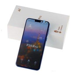 2019 telefone tri sim Goophone p20 pro quad core telefone celular de 5,5 polegadas telefone inteligente 1GB + 4GB Mostrar Falso 4GB de RAM 128 GB ROM Celular Android