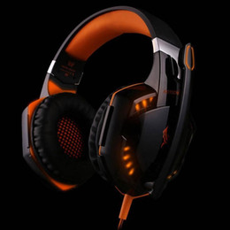 100% original maker 3.5mm Jeu Gaming Headphones casque Avec Mic LED Pour Ordinateur Portable Tablet / PS4 / Téléphones Mobiles vente chaude G9000 ? partir de fabricateur