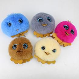 Venda de brinquedos de páscoa on-line-Atacado-Moda Venda Quente Biddy Brinquedos Presentes de Páscoa Handmade Little Cute Turquia Keychains Car Jóias Bag Cadeia