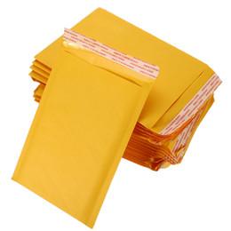 2019 sacchetto di imballaggio di natale dell'alimento 50 pc / lotto Kraft Buste Bubble Bags bollettini riempiti Spedizione busta con il sacchetto di bolla Mailing Drop Shipping