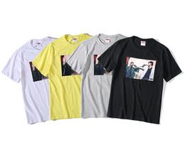 Sup chemise en Ligne-Meilleures vente de la marque T-shirt SUPS + designer REMEP luxe SSbrand dos masculin sanglant des hommes T-shirt mode chaud T-shirt des hommes