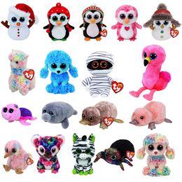 Ty Beanie Boos Big Eyes Color Sheep Poodle 10 - 15cm Stuffed Plush Animals  Toys Dolls Child Gift ba92c792e7ad