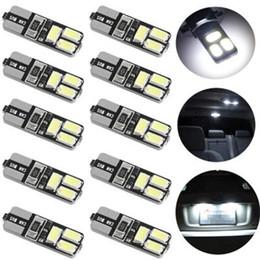 10x 1.8W T10 Led ampoule intérieure de voiture Canbus sans erreur T10 blanc 5730 6LED 12V côté de la voiture Wedge Light White lampe ampoule de voiture style ? partir de fabricateur
