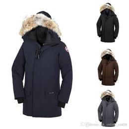 2018 Canada homme Goose Man Langford Parka Nouvelle Arrivée Vente Hommes  Guse Chateau Noir Marine Gris Doudoune Manteau D hiver   Parka Vente 06da4617524