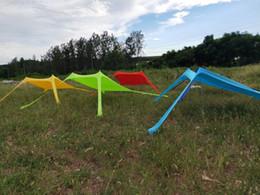 Barraca de dossel grátis on-line-Barracas de camping ao ar livre Frete grátis 2.1X2.1 m barraca de praia barraca de lycra sombrinha barracas de acampamento ao ar livre legal