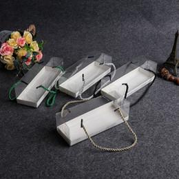 4styles Klare transparente Verpackungskasten 18,5 cm * 6,5 cm * 6,5 cm Mit Tablett Baked Cookie Geburtstags-Geschenk-Kuchen backen Box Handtasche FFA3056 von Fabrikanten