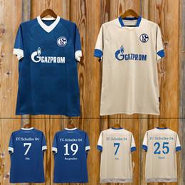 973eeb2fd 2019 schalke fußball jersey 2019 Schalke Home Blue Soccer Jersey 18 19 Schalke  04 Auswärtstrikot