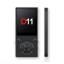 Экран для наушников bluetooth онлайн-D11 Металл большой экран MP3 / MP4 Bluetooth-плеер с наушниками Многофункциональный Hifi Music Player