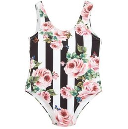 f7bdb925eede8 Hot Summer One-piece swimming suit Baby Girls Swimwear Style Bikini For Children  Swimsuit Kids Bathing Suit Beachwear Girls