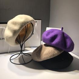 Peintre béret de mode en Ligne-Béret chapeau de peintre Lady Fashion automne et hiver.