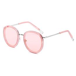 Óculos promocionais on-line-Designer de marca de mulheres óculos de sol das mulheres rodada de moda óculos polarizados óculos de sol de qualidade superior desconto promocional mulheres óculos de sol