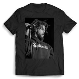 j hats Promo Codes - J Cole Live On Stage Man   Woman T-Shirt Brand Shirts Jeans Print Suit Hat Pink T-shirt