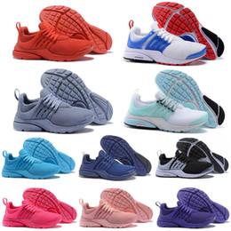 zapatos deportivos brasil Rebajas nike air presto  Running Shoes Hombre Mujer Triple Blanco Negro Unholy Cumulus Brazil Fashion Jogging Designer Sports Sneakers 36-45 Recién llegado
