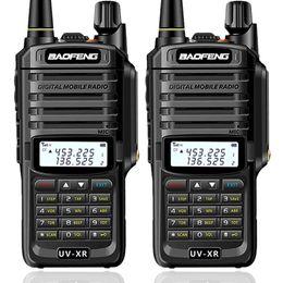 2019 midland headset 2ST Baofeng UV-XR 10W High Power IP67 wasserdicht Zwei-Wege-Radio Dual-Band-Handheld Walkie Talkie für die Jagd uv9r uv9r Plus