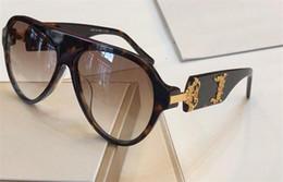 meilleures lunettes de soleil Promotion La nouvelle monture 4323 de lunettes de soleil de concepteur de mode pilote avec la meilleure qualité populaire best -elling protection lunettes uv 400 lentille