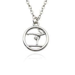 Joyas de gimnasta online-Infinity Collection gimnasia collar gimnasia gimnasta joyería collar de gimnasta