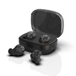 schwimmen kopfhörer bluetooth Rabatt Touch Control TWS Bluetooth V5.0 Kopfhörer Stereo Musik Kopfhörer IPX7 Schwimmen Wasserdicht True Wireless Ohrhörer mit Ladekoffer