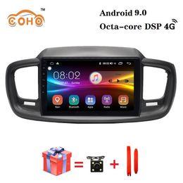 subaru dvd spieler Rabatt Car Audio Android 9.0 8-Core 4 / 64G 2015-2018 Sorento Rechtslenker mit Radio BT GPS Unterstützung DSP und WIFI 4G für KIA Car DVD