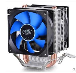 amd processor am3 Sconti Deepcool PC AMD CPU Intel Dissipatore di calore ventola del processore radiatore di raffreddamento del dispositivo di raffreddamento Ventola LGA 775 115X AM2 AM3 FM1 FM2 1366