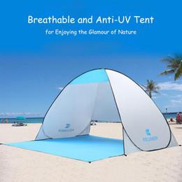 2019 нейлоновая тафта Автоматическая палатка для кемпинга Корабль из RU Пляжная палатка 2-х местная палатка Мгновенное всплывающее открытое анти-УФ-тентовое навес