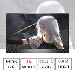 2019 tipos de xbox 15.6 pulgadas TYPE-C 4K Monitor de juegos portátil para PS4 Pro XBOX NS HDMI HDR Soporte de pantalla HDCP2.2 para PC portátil Raspeberry Pi tipos de xbox baratos