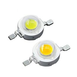 2019 led pcb pc Cuentas de 1W 3W 5W LED DC 3.2-3.6V diodo LED chip SMD blanco cálido para el proyector de la lámpara empotrada de bricolaje