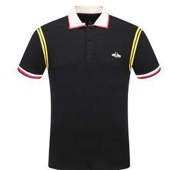 2019 рубашки поло для мужчин Italy fashion Classic  designer  new men  t shirts short sleeve embroidery Letter mens s дешево рубашки поло для мужчин