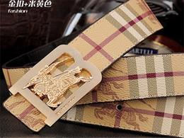 Hebilla de jeans de marca online-Caliente NUEVO diseñador B cinturones hombres mujer Jeans cinturones Para hombres Mujeres Hebilla de metal cinturones de marca con el tamaño de 100 cm-125 cm como regalo