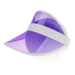 2019 cappelli beanie bianchi per neonati 2019 Nuovo PVC Visiera di plastica per cappelli per bambini Bambini Candy Colors Casual Outdoor Cappucci Protezione UV Ragazzi Ragazze Cappelli di protezione solare