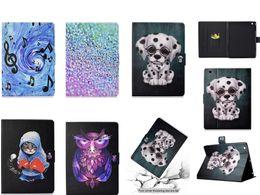ipad bedeckt eule Rabatt Cartoon Owl Cat Wallet Ledertasche für Ipad Mini 1 2 3 4 Air 2 Ipad 2017 Ipad Pro 10,5