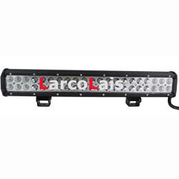 2019 luci rosse ems 20 pollici 126W CREE LED Light Bar Jeep Truck Trailer 4x4 4WD SUV ATV Off-Road Car 12v lavoro lavoro lampada matita diffusione fascio