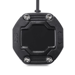 rueda momo Rebajas EBAT ET - Sistema de monitoreo de presión de neumáticos de motocicleta 900AE a prueba de agua con 2 sensores de tapa de válvula Pantalla a prueba de polvo inalámbrica Envío gratis