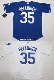 Cheap Custom Cody Bellinger # 35 Cool Base jerseys Home / Away Stitched Retro Mens maglie Personalizza qualsiasi numero nome supplier cool jersey numbers da numeri cool jersey fornitori