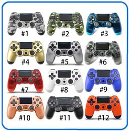 i migliori telefoni cellulari Sconti SHOCK 4 controller wireless TOP Gamepad di qualità per PS4 joystick con il pacchetto di vendita al dettaglio del regolatore del gioco del DHL il trasporto libero di alta qualità