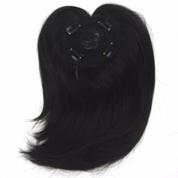 Longs Toupets Fibre Synthétique Fibre Cheveux Postiches Cheveux Raides Franges Top Fermetures Pour Hommes Et Femmes ? partir de fabricateur