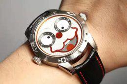 nuevo reloj ruso Rebajas 2019 venta caliente Joker ruso nuevo reloj movimiento de cuarzo importado sonrisa cara dial 42mm reloj de moda
