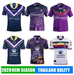 pullover di tempesta Sconti 2020 camicie MELBOURNE STORM rugby Jersey 2019 indigena commemorativa Jersey Rugby League maglie in Australia Rugby League Jersey