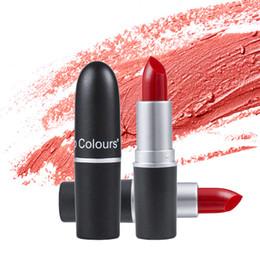 2019 trucco scuro sexy 12 colori sexy rossetto opaco velluto nudo impermeabile lungo trucco duraturo Cosmetici Bellezza Batom Lip Stick sconti trucco scuro sexy