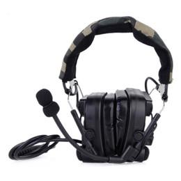 Comtac IV наушники шумоподавления авиационная гарнитура Combat comtac тактический шлем Z038 от Поставщики наушники для apple