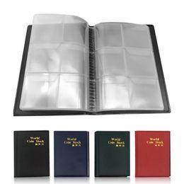 ce50219b6e pagine monete Sconti 2019 Nuovo album Collezione di monete con 10 pagine 60  tasche World COIN